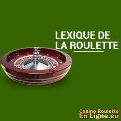 Lexique de la roulette
